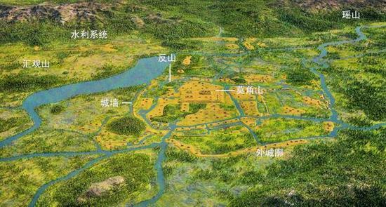 良渚古城遗址