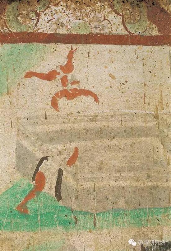 榆林窟第33窟-地狱图之粪秽地狱-五代
