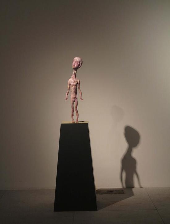 《小红》 蒋剑韬    玻璃钢着色 ,60cm ,2014