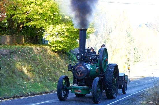 这台蒸汽机车是最想收集的一类车模(图片来源:东晓车迷世界)