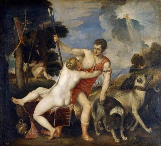 提香《维纳斯与阿多尼斯》