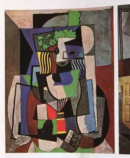 ▲毕加索的这幅画影响了熊庆华