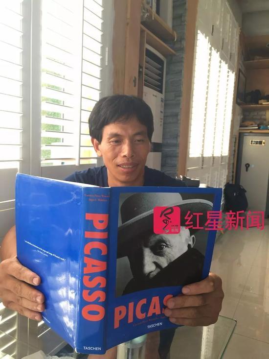 ▲熊庆华说毕加索深刻影响了他 图片来源:红星新闻