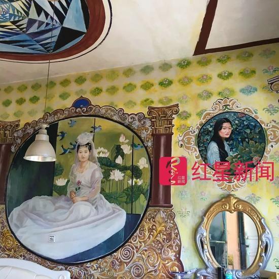 ▲熊庆华给妻子的画 图片来源:红星新闻