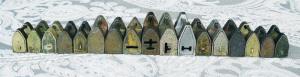 各种古铜锁