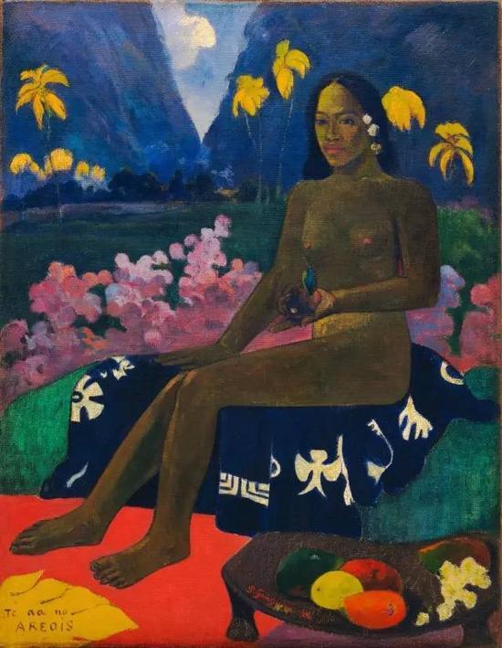保罗·高更,《Areoi的种子》,1892布面油画97×72cm现藏于纽约现代艺术博物馆