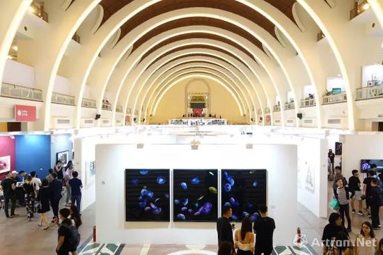 第四届影像上海艺术博览会现场,2017