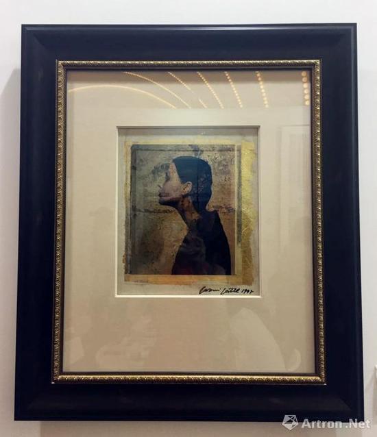 乔瓦尼·加斯特尔 宝丽莱金箔2 1997 宝丽莱胶片 金箔纸 单版 20x25cm Photo画廊 售价 8.5万元