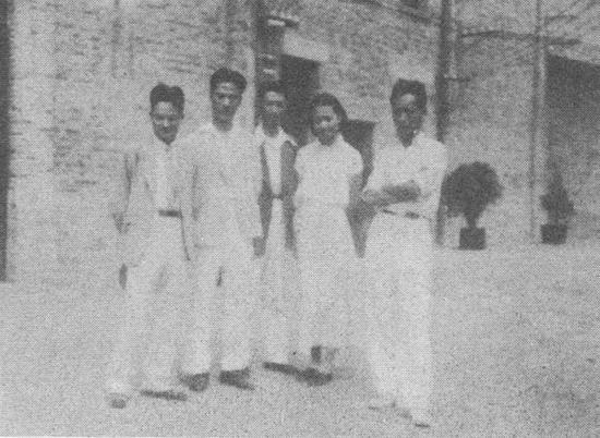 1936年,南京中央大学部分老师合影