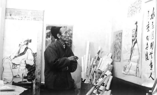 1979年蒋兆和画室