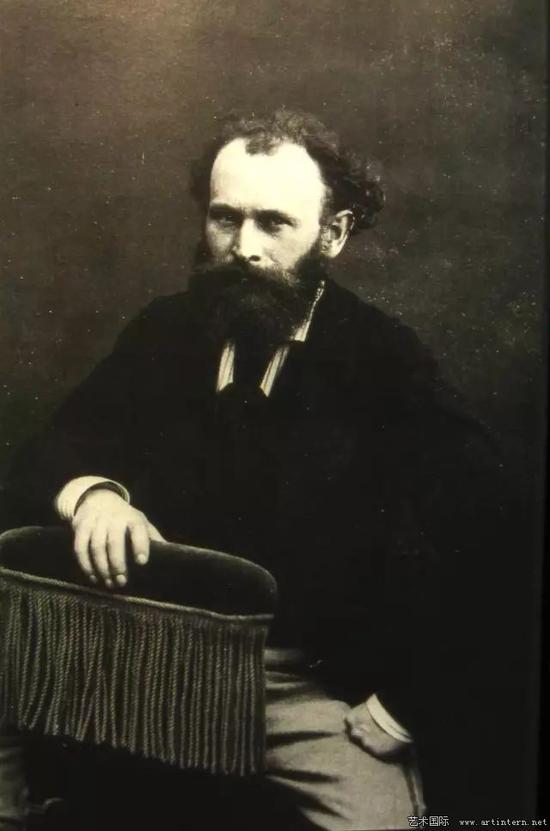 纳达尔 马奈肖像 1856