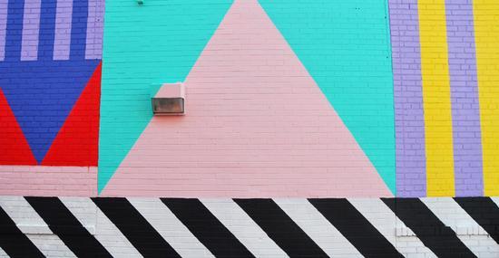 三角形成了壁画里反复出现的元素