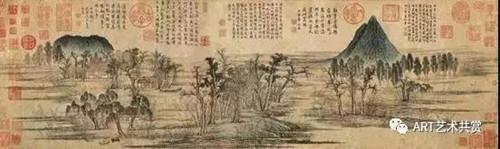 赵孟頫鹊华秋色图