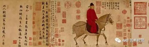 赵孟頫人骑图