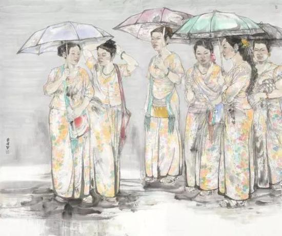 作为沪上本土艺术家,张智栋先生将他近年来创作的五十余幅中国画精品将于朵云轩展出。