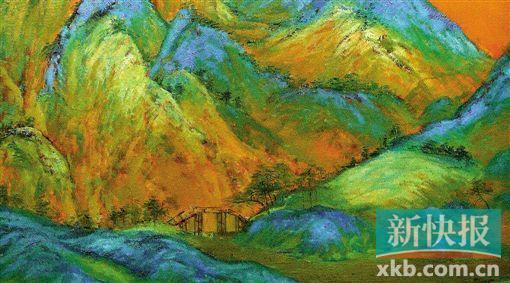 《千里江山图》局部,每一个景别都有详确动人的细节。
