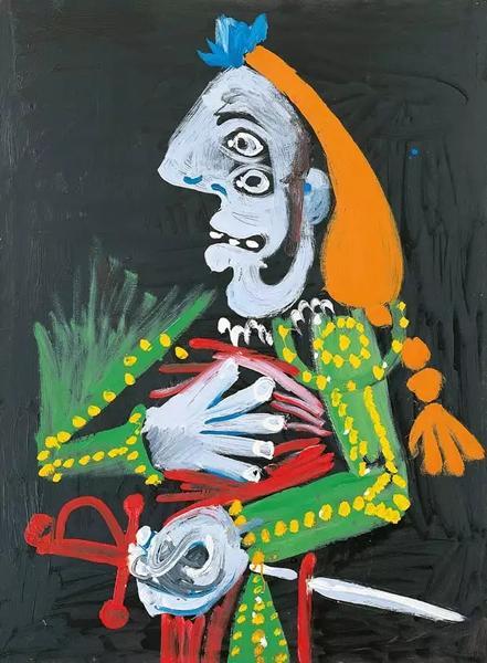 毕加索,《斗牛士》,1970年