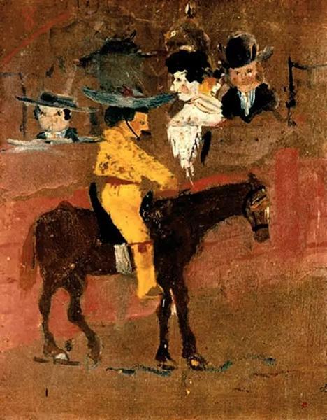 毕加索,《小皮卡尔多》,1889年