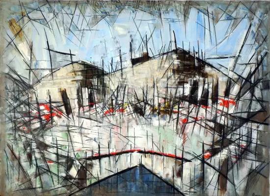 亚瑟·皮那让《无题》,1954年