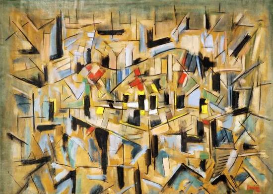 亚瑟·皮那让《无题》,1961年