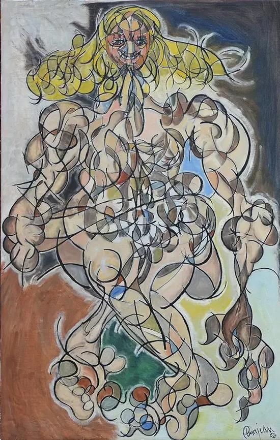 亚瑟·皮那让《裸女》,1962年