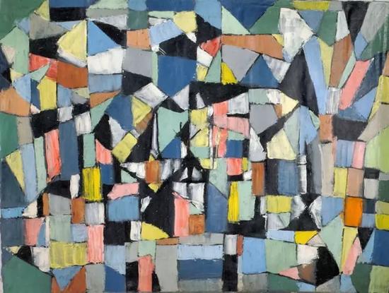 亚瑟·皮那让《无题》,1962年
