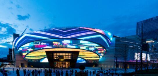 远洋与艺术共融,商业乐堤港传递中国当代艺术96平方的自建设计图图片