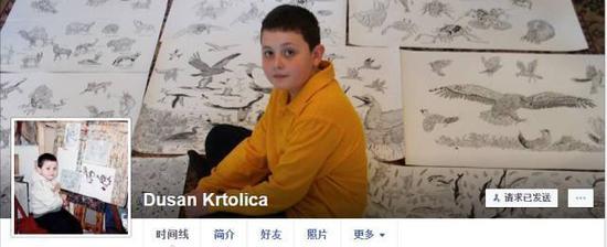 8岁时就已经有过3次国家个展的他,