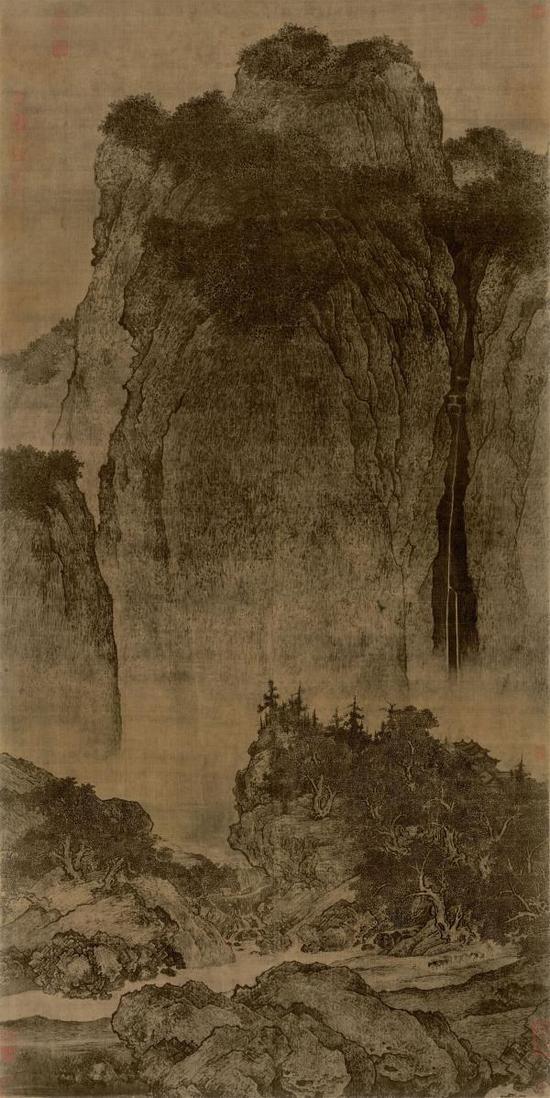 北宋 范宽《溪山行旅图》