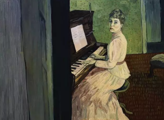 Saoirse Ronan扮演的Marguerite Gachet。图片:Courtesy Good Deed Entertainment and Loving Vincent