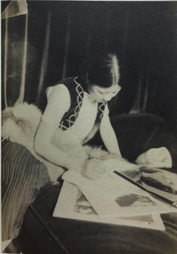 20世纪30年代初唐蕴玉在巴黎