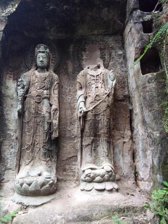 佛像被盗后