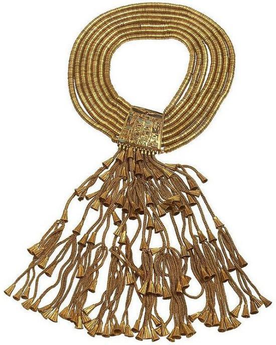 [普苏塞恩涅斯一世项链]Necklace of Psusennes I