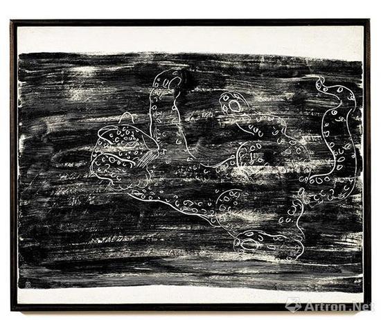 常玉 《花豹》 1931年作 油彩画布 93 x 116公分 估价待询