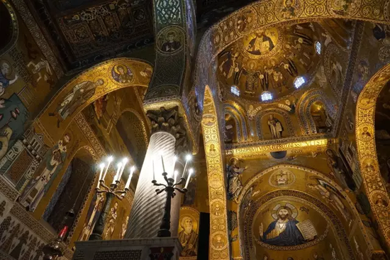 帕拉提那礼拜堂的穹顶