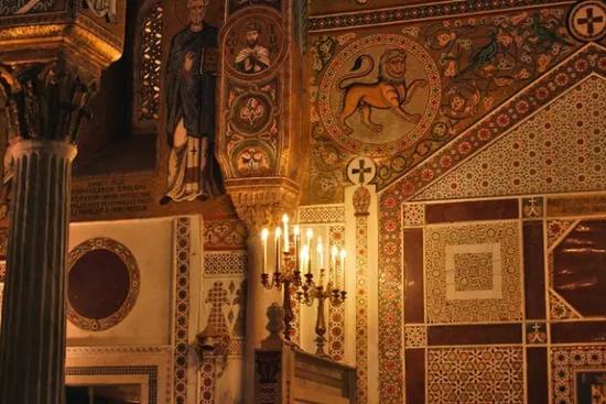 帕拉提那礼拜堂一隅