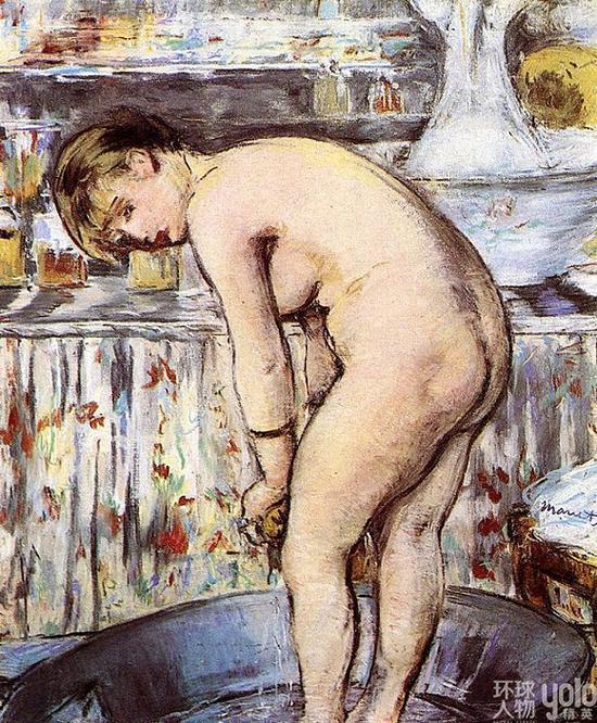 《浴缸里的妇人》