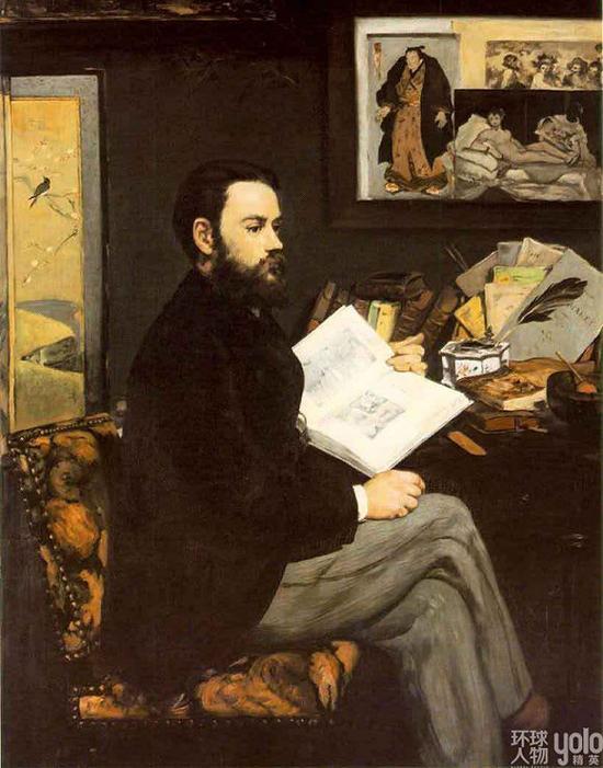 Emile Zola的肖像