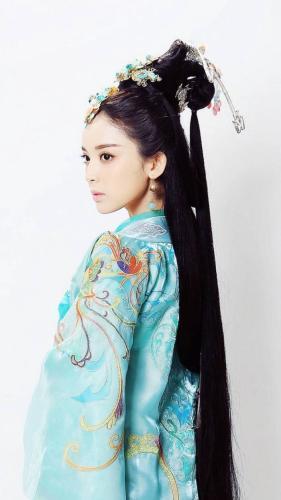 影视剧《武神赵子龙》中古力娜扎饰演貂蝉。