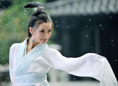 2010年版《三国》中陈好饰演貂蝉。