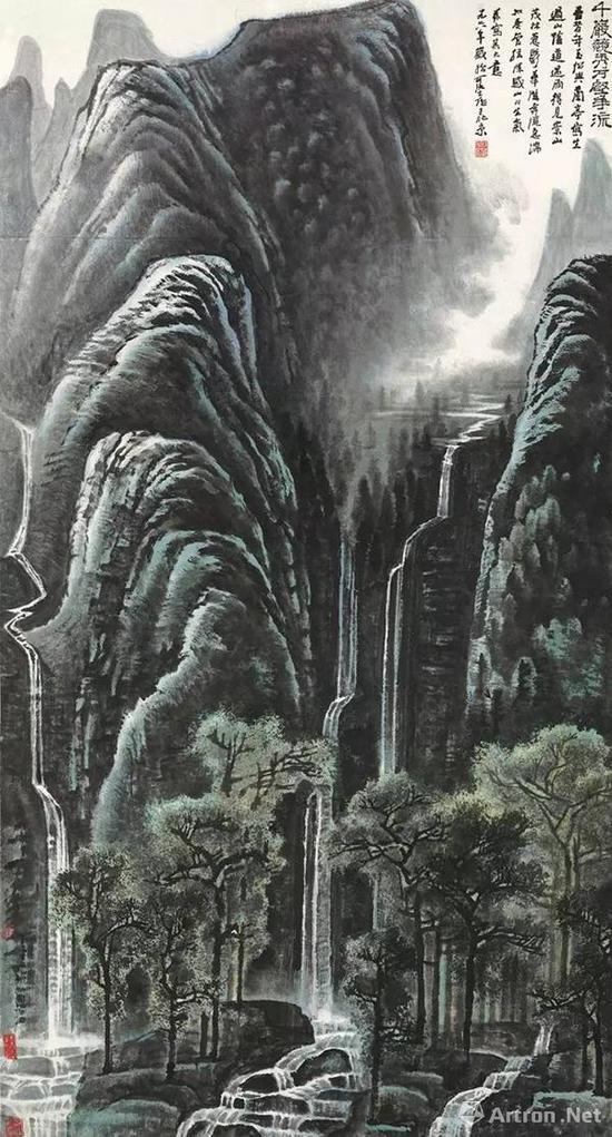 李可染 《千岩竞秀万壑争流》 1.22亿港币成交