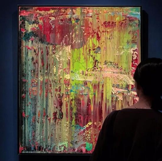 格哈德·里希特《抽象画(679-2)》 成交价:49,037,500港元