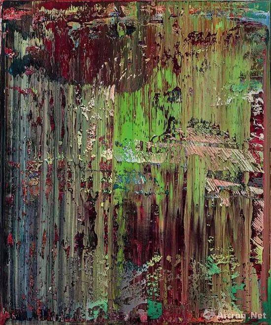 ▲格哈德·里希特 《抽象画(679-2)》 成交价:49,037,500港币