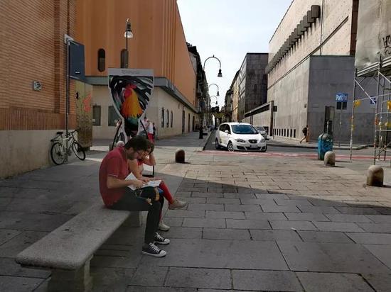 《移民外星人》巡展意大利都灵大学图片