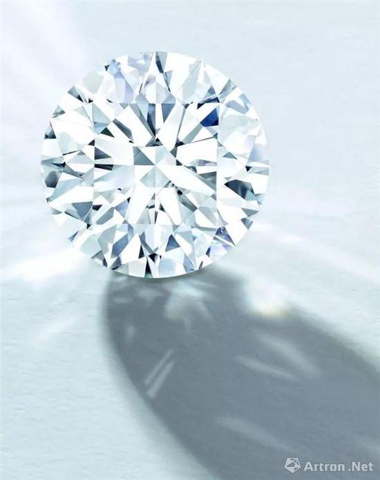 圆形足色全美钻石3891万港币