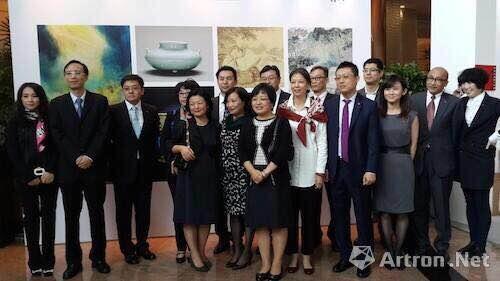 中国嘉德(香港)2014年大家庭合影