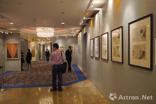 中国嘉德(香港)2016年拍卖预展现场