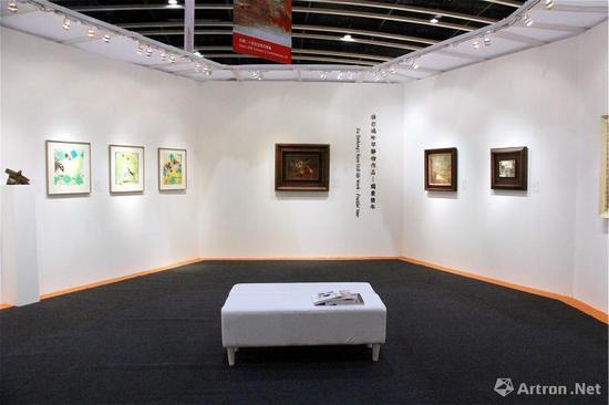 中国嘉德(香港)亚洲二十世纪及当代艺术预展现场