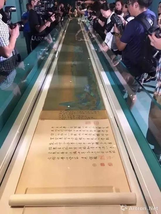 故宫发号分时参观《千里江山图》