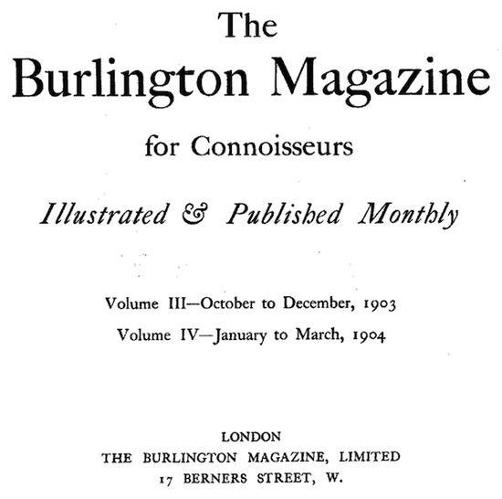 《伯灵顿鉴赏家杂志》